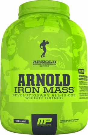 Iron Mass Arnold Series (MusclePharm) 2270 г