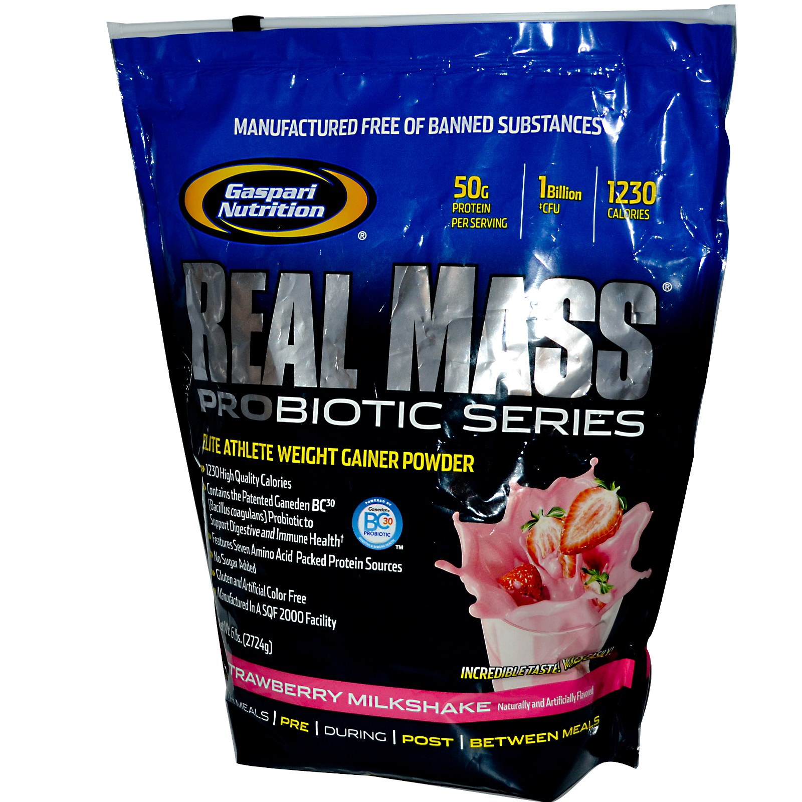 GN Real Mass Probiotic Series 6 lb