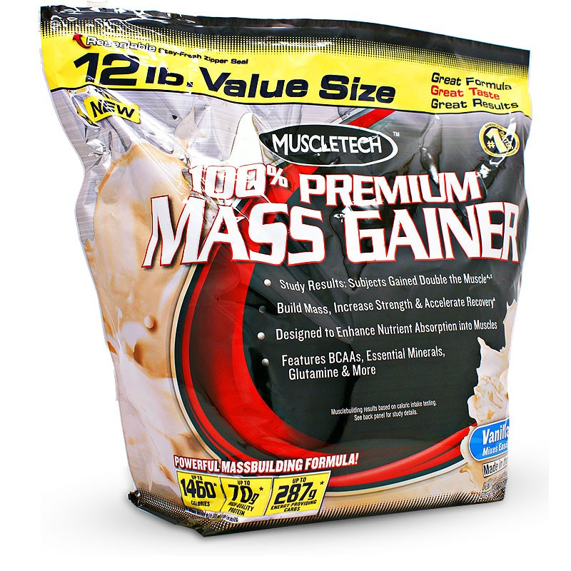 MT 100% Mass Gainer ваниль