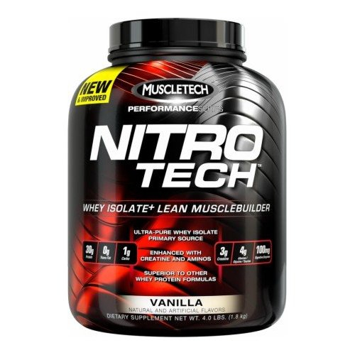 Nitro-Tech Performance (Muscle Tech)  1800g ваниль